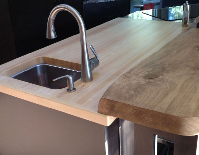 Quebec QC hardwood countertops