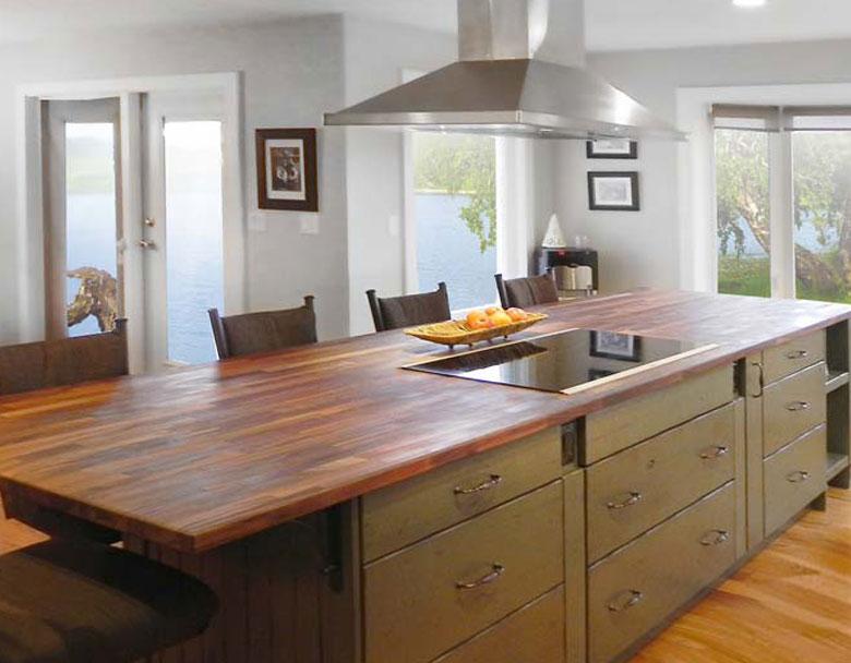 Saskatoon SK hardwood countertops