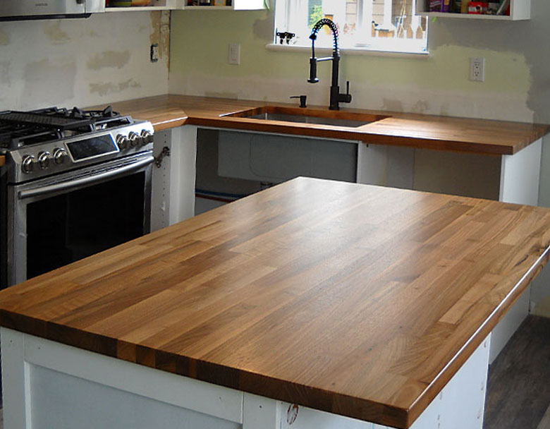 Winnipeg MB hardwood countertops